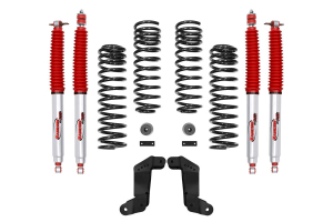 Rancho 2in Sport Suspension System w/RS9000 Shocks and Correction Brackets - JK 4dr
