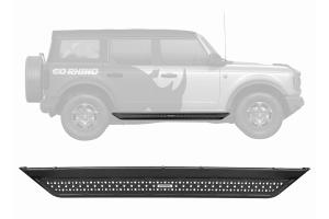 Go Rhino Dominator Extreme D6 Side Steps  - Ford Bronco 4Dr