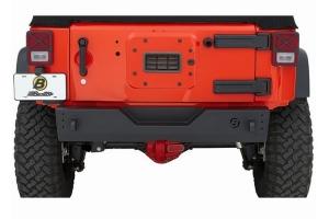 Bestop HighRock 4x4 Modular Rear Bumper - Matte Black - JK