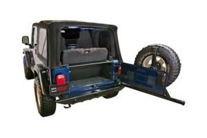 Tuffy Security Tailgate Security Enclosure Black