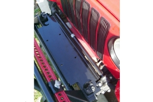 Rugged Ridge Winch Mounting Plate - TJ/LJ