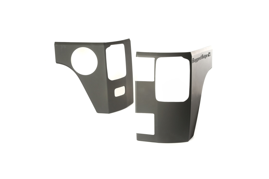 Rugged Ridge Rear Corner Armor Kit (Part Number:11651.09)