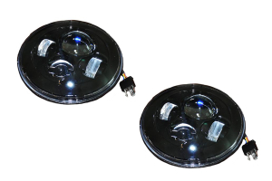 DV8 Offroad LED Projector Headlights - Pair (Part Number: )