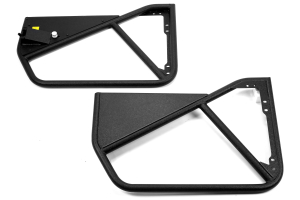 Smittybilt SRC Tubular Doors Front Black ( Part Number: 76791)