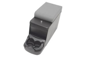 Smittybilt Security Floor Console Grey Denim (Part Number: )
