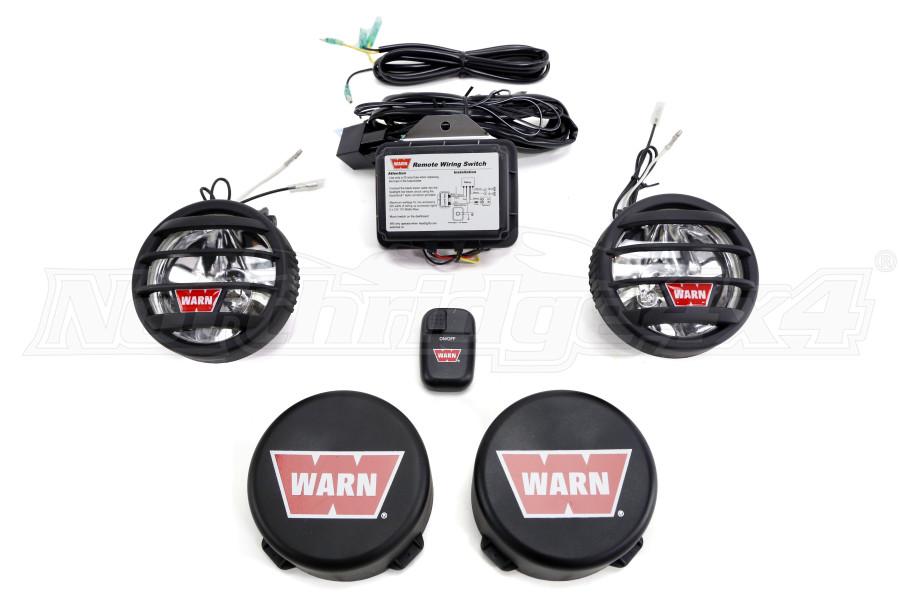 Warn 35in Wireless Fog Light Kit   82410 - Free Shipping