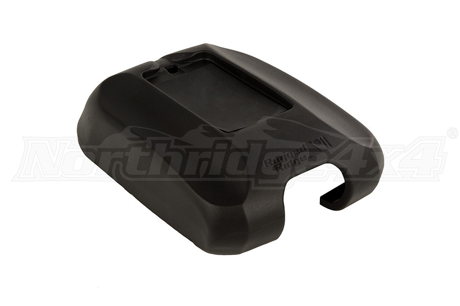 Rugged Ridge Center Console Cover W/ Phone Holder BLK - JK 2011+