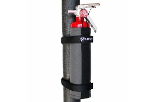 Bartact Roll Bar 2.5LB Fire Extinguisher Holder - Graphite