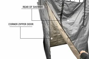 Overland Vehicle Systems Nomadic Car Side Shower Room