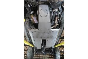 Motobilt Skid Plate System - Bare Steel - JT Rubicon