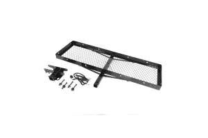 Rugged Ridge Receiver Hitch With Cargo Rack  (Part Number: )