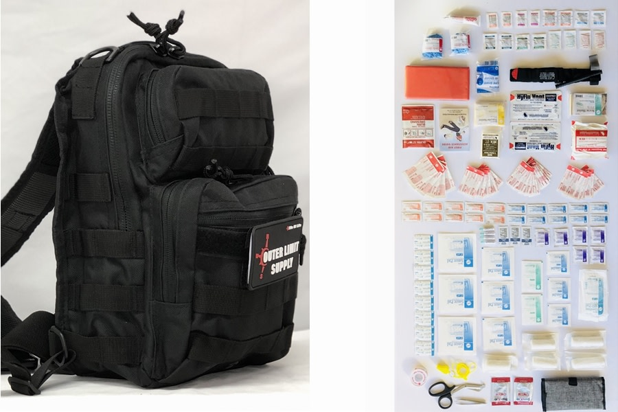 Outer Limit Supply Rover Sling First Aid Kit - Black