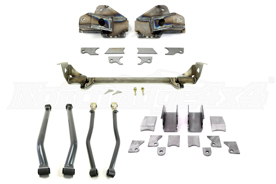 Synergy Manufacturing Rear Suspension Stretch Kit w/Weld-On Lower Shock Mounts