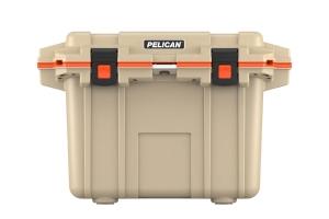 Pelican 50QT Elite Cooler- Tan Orange