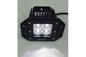 Lifetime LED 20W Off Road Lights Flush Mount 3in Amber/White (Part Number: )