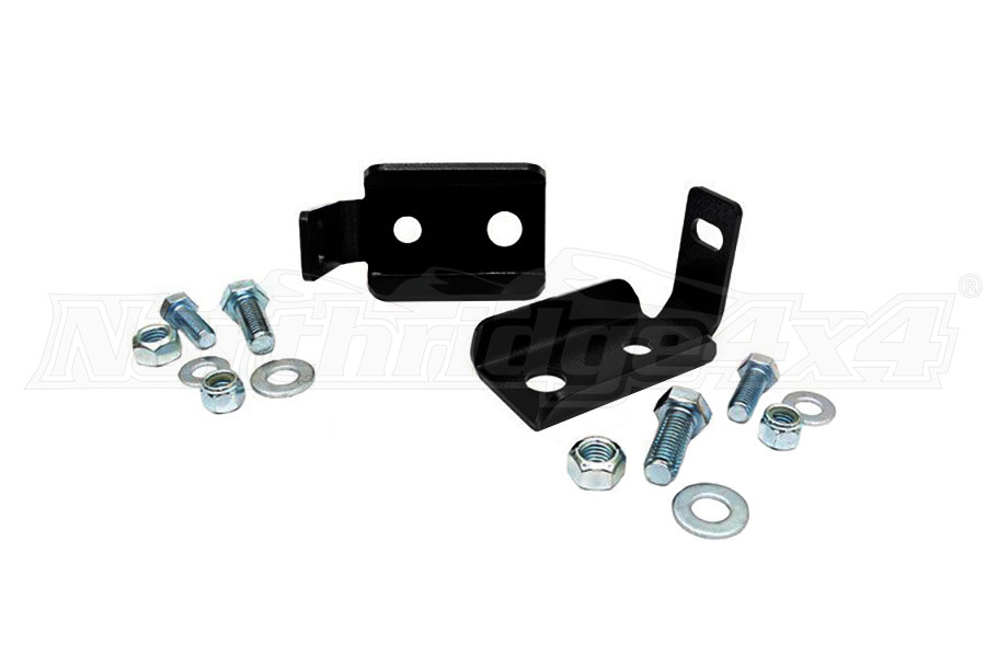 Rough Country Front Shock Relocation Brackets (Part Number:1020)