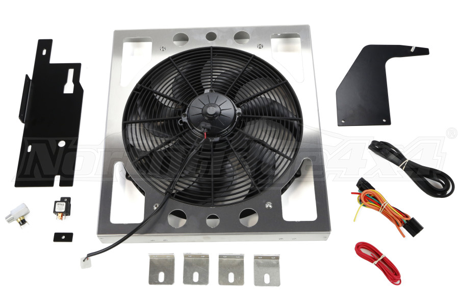 Derale Direct Mount Electric Fan Kit (Part Number:20161)