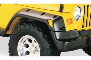 Bushwacker Eurostyle Pocket Fender Flares - TJ/LJ