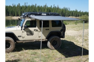 Freespirit Recreation Jeep Series 78in Vehicle Awning, Grey (Part Number: )