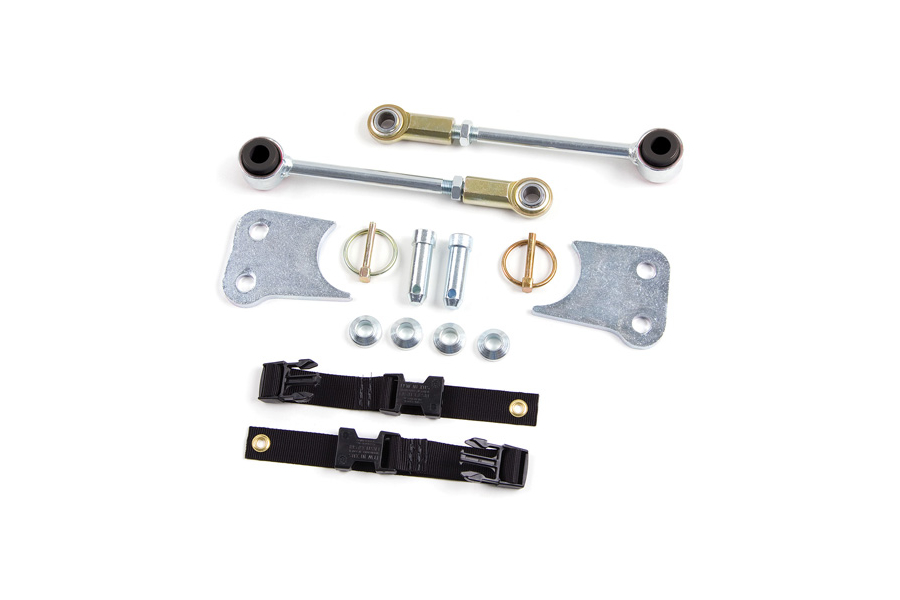 Zone Offroad Front Sway Bar Disconects 3-4.5in Lift (Part Number:J5313)