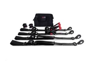 SpeedStrap Essential Off-Road 2in Tie-Down Kit, Black