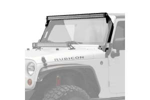 KC HiLiTES C-Series LED Light Bar and Overhead Mount Bracket Kit (Part Number: )