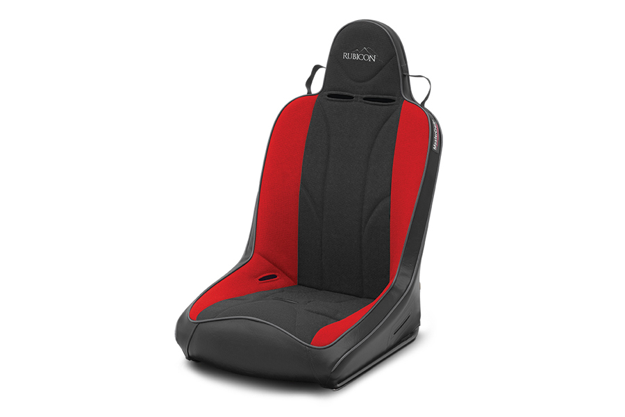 MasterCraft Rubicon Suspension Seat Smoke Red / Black (Part Number:524102)