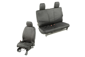 Rugged Ridge Elite Ballistic Seat Cover Set ( Part Number: 13256.03)