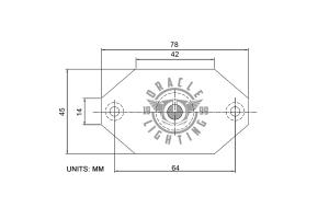 Oracle Magnet Adapter Kit for LED Rock Lights - Single