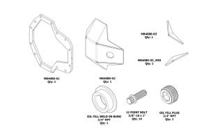 Motobilt DIY Ultimate Dana 60 DIFF Cover