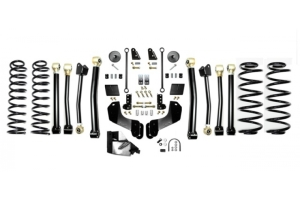 EVO Manufacturing 3.5in Enforcer Overland Lift Kit w/Shock Extensions Stage 4 - JL