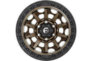 MHT Fuel D696 Covert Series Wheel, 17x9 5x5 - Bronze - JT/JL/JK