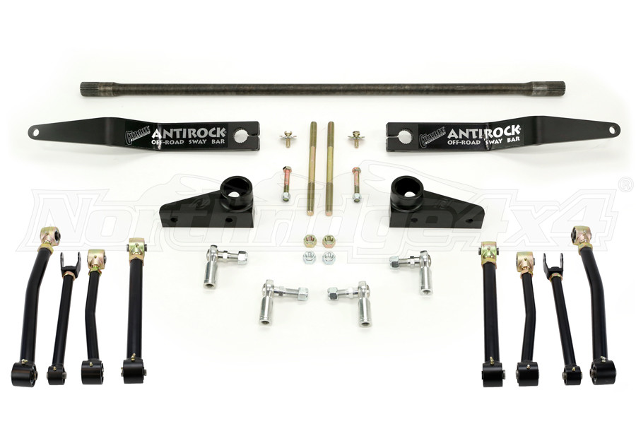 Currie Control Arms and Sway Bar Package - JK (Part Number:ARMS-SWAY-PKG)