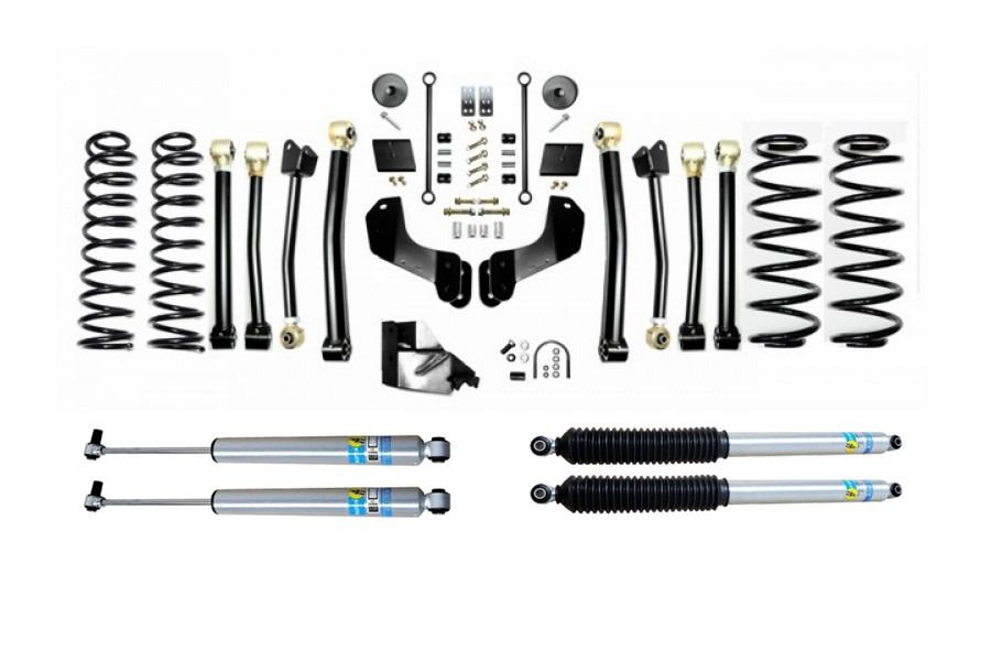 Evo Manufacturing 3.5in Enforcer Overland Stage 4 Lift Kit w/ Bilstein Shocks - JL