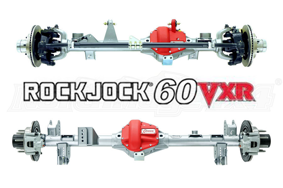 Currie Enterprises RockJock 60 VXR Front & Rear Axle Kit (Part Number:ROCKJOCK60VXRKIT)