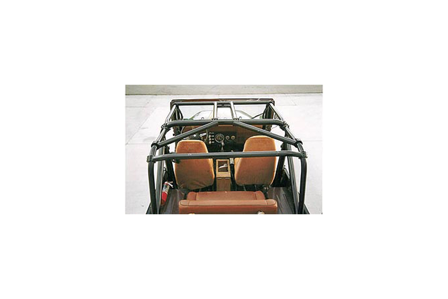 Rock Hard 4x4 Ultimate Sports Cage Straight Across Rear Bars (Part Number:RH-1002-B)
