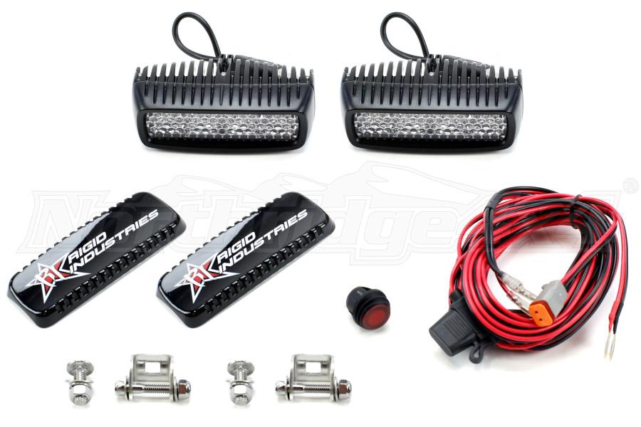 Rigid Industries SR-Q Series Light Bar Set Diffused 60 Degree (Part Number:905513)