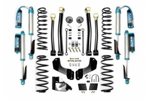Evo Manufacturing 3.5in Enforcer Overland Stage 3 Lift Kit w/ Comp Adjuster Shocks - JL