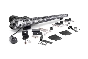 Rough Country 30-inch LED Hood Kit, Chrome Series (Part Number: )