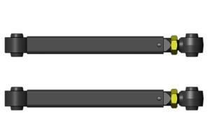 Clayton Overland Plus Rear Lower Control Arms  - JL/JK