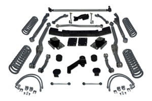 Rubicon Express 3.5in ExtremeDuty Long Arm Lift Kit (Part Number: )