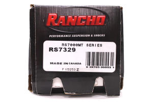 Rancho Performance RS7000MT Monotube Absorber Shock Front 3in Lift - JK