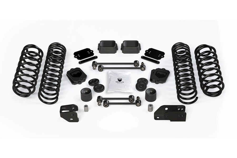 Teraflex 4.5in Coil Spring Base Lift Kit - No Shock Absorbers - JL 2Dr