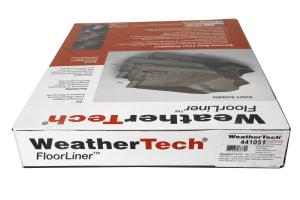 WeatherTech Front Floorliners Black - JK