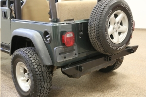 Rock Hard 4x4 Rear Bumper - TJ/LJ/YJ/CJ