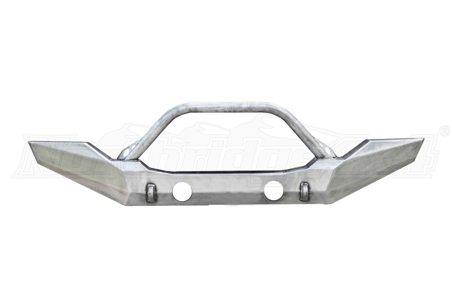 LOD Destroyer Full-Width Front Bumper w/Bull Bar Bare Steel (Part Number:JFB0722)