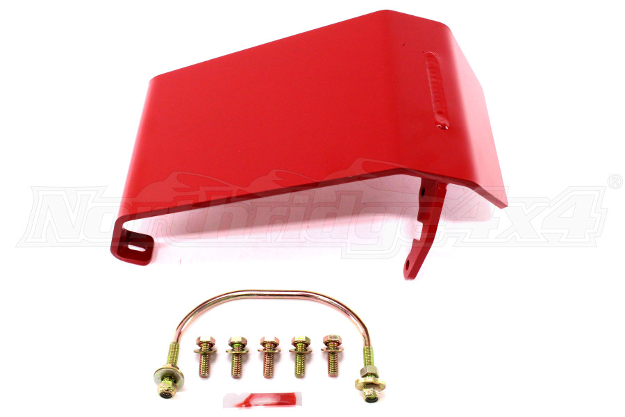 Rancho Performance Front Differential Glide Plate Red (Part Number:RS6222)
