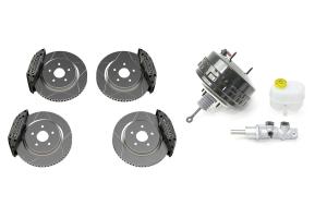 Teraflex Delta Brakes and Mopar Master Cylinder and Brake Booster Kit - JK