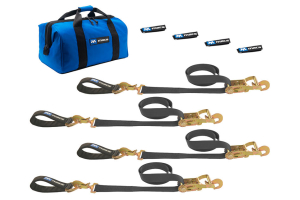 Mac's Ultra Pack Ratcheting Tie Downs Black (Part Number: )