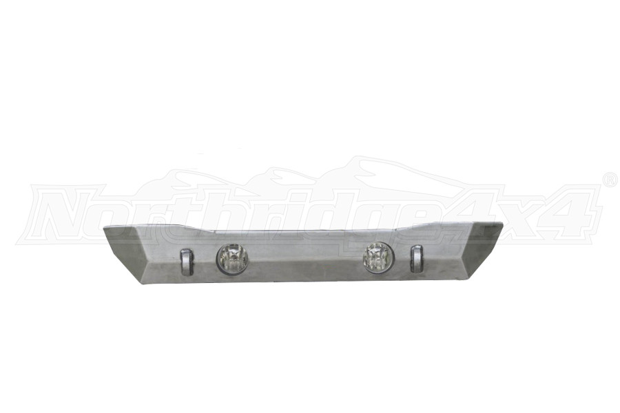 LOD Destroyer Shorty Front Bumper w/NO GUARD Bare Steel (Part Number:JFB0700)